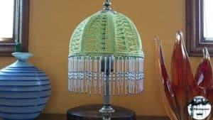 Pantalla de ganchillo - Lámpara 2017
