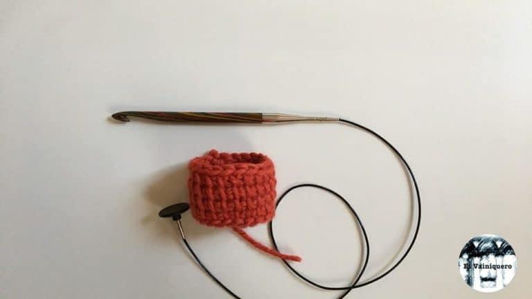 Crochet tunecino tubular