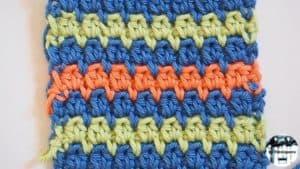 Punto fantasía crochet #5