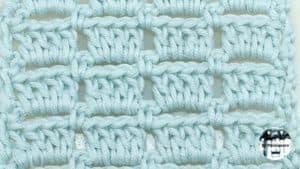 Punto fantasía crochet #8 – Ganchillo
