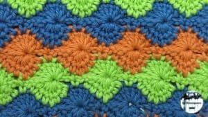 Punto fantasía crochet #14