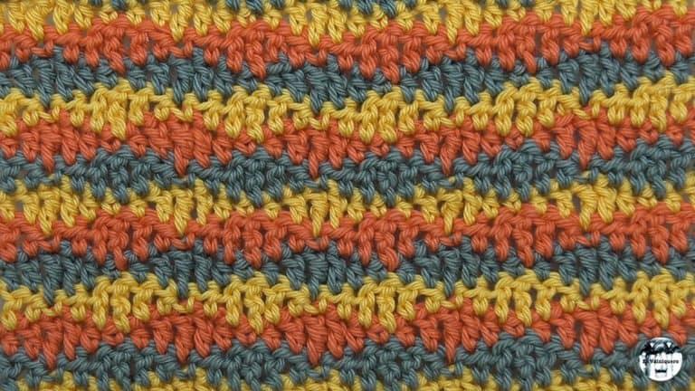 Punto fantasía crochet #15